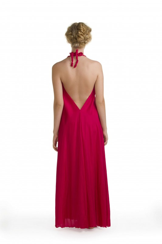 Lisa Brown Signature Style Poppy Dress Rouge
