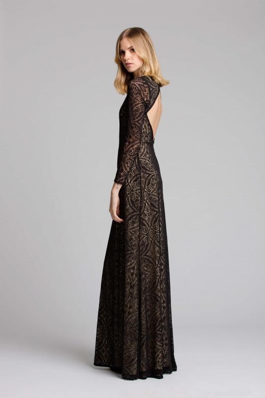 Lisa Brown Ruby Black Dress