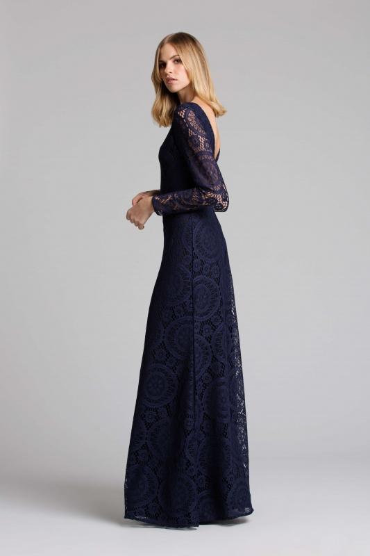 Lisa Brown Vienna Navy Dress